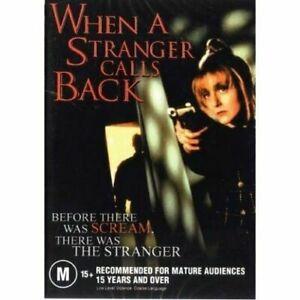 When a Stranger Calls Back DVD Charles Durning New and Sealed Australia