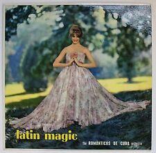 The Romanticos de Cuba Orchestra Musidisc LP Pin-Up Cover
