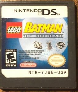 LEGO Batman: The Videogame (Nintendo DS, 2008) VG Shape & Tested