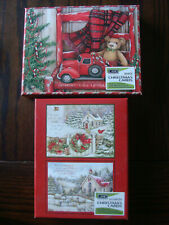 36 Lang Assorted Christmas Cards - Brand New w/ Envelopes Boxes