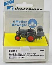 Viessmann 22255 LANZ Bulldog mit Bandsäge, beleuchtet, Neu mit OVP