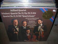 JUILLIARD QUARTET / SCHUBERT quartet 12 13 ( classical ) SEALED NEW