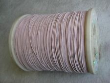 Litz wire 660/46 for Amateur & Crystal Radio coil, Single layer insulation, 60'