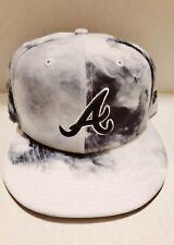 New Era Authentic Atlanta Braves Black & White 9Fifty Snapback Cap Adjustable 95
