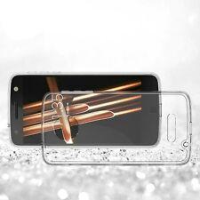 Exact Clear Transparent TPU Grip Bumper Slim-Fit  Case For Motorola Moto Z