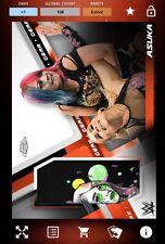 TOPPS WWE SLAM - Asuka Chrome Gear 2020 - DIGITAL CARD