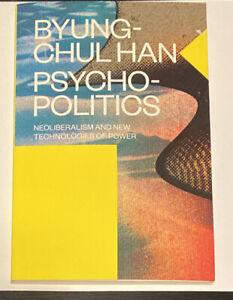 A Book Paperback Byung-Chul Han Psychopolitics