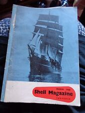 JUST POST WW2 SHELL MAGAZINE MARCH 1946 ILLUSTRATED BALLET RETURNS TO COVENT GDN