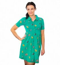 Official Peter Pan The Lost Boys All Over Print Button Up Dress from Cakeworthy