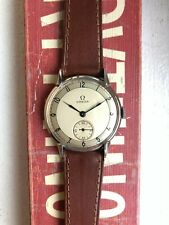 Vintage Omega Redone Art Deco Sector Dial Manual Wind Watch