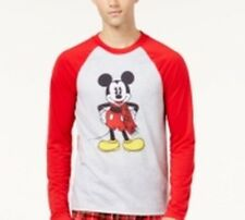 Disney Men's Mickey Mouse Pajama Top Gray X-Large NWT