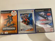 PS2 Extreme Sports Games Bundle SSX, AirBlade & Shaun Palmer's Pro Snowboarder