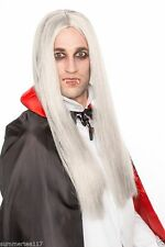 Halloween Sexy Vampire Cosplay Wig Grey Long Straight Costume X-Men Storm