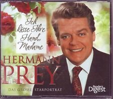 Hermann Prey - Ich küsse ihre Hand, Madame  -  Reader´s Digest  4 CD Box  OVP