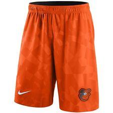 Baltimore Orioles Nike Knit Performance Shorts - Orange