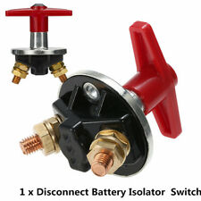 12V CAR TRUCK BOAT CAMPER BATTERY ISOLATOR DISCONNECT CUT OFF POWER KILL SWITCH
