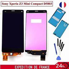 Ecran LCD Vitre Tactile Pour Sony Xperia Z3 Compact D5803+ Outils&Adhésifs Noir