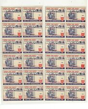 OPEN THE GATES, HIRE THE HANDICAP POSTER STAMPS, SPLIT SHEET