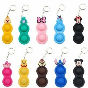 Disney Simple Dimple Keychain Sensory Fidget Toy Stress Relief SENS Autism Games
