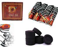 SHINE 100 CHARCOAL Coal Discs for SHISHA hookah SMOKING PIPE Flame Light