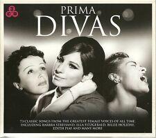 PRIMA DIVAS - 3 CD BOX SET - EDITH PIAF BILLIE HOLIDAY Ella Fitzgerald & MORE
