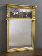 TRUMEAU  MIRROR  ~ 1:12 scale  ~ Hunt  Scene ~ Jim Coates ~ Dollhouse ~ Room Box