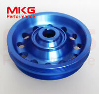 L-Weight Racing Crankshaft Pulley Underdrive For Honda 92-95 Civic SOHC D16 BK