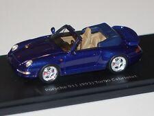 Porsche 911 (993) Turbo Cabrio dunkel blau 1:43 Schuco PRO.R43 neu & OVP 8917
