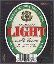 Poland Brewery Pokrówka Light Beer Label Bieretikett Etiqueta Cerveza pk5.2