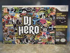 NINTENDO Wii DJ HERO  *NEW*