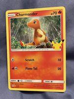 Charmander 9/25 NON Holo Pokemon Card McDonald's 25th Anniversary Promo 2021
