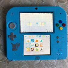 Nintendo 2ds Konsole Pokemon Sun & Moon Limited Edition blau PAL