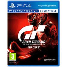 GT Gran Turismo SPORT PS4 Videojuego Fisico Playstation 4 Juego Caja Play4 PS 4