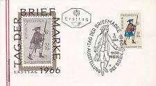 Österreich 1966: FDC Tag der BriefmarkeSSt. 1150 Wien