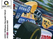 Coffee Mug 1993 Williams Renault FW15C #0 Damon Hill (GBR) by Toon Nagtegaal