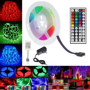 RGB LED Strip Lights 3528 10M 20M LED 12V + 44 KEY IR CONTROLLER + AU Plug / USB