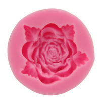 Silicone 3D Rose Flower Fondant Cake Chocolate Sugarcraft Mould Mold Decoration