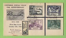 First Day of Issue Bermudian Stamps