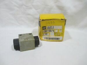 New Genuine Caterpillar CAT 8J-6875 Valve A