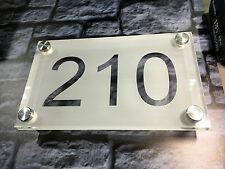 Numéro de maison , Number house 200X120mm