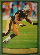 NFL 15 Joe Johnson New Orleans Saints Topps 1999