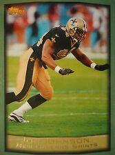 NFL 15 Joe Johnson New Orleans Saints Topps 1999