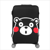 """19-32"""" Suitcase Travel Luggage Cover Protector AntiScratch Washable Spandex Case"""