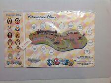 Disneyland Resort 2017 Eggstravaganza Easter Egg Hunt - Downtown District Map