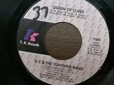 "KC & THE SUNSHINE BAND 45 RPM ""Queen of Clubs"" & ""Do It Good"" VG condition"