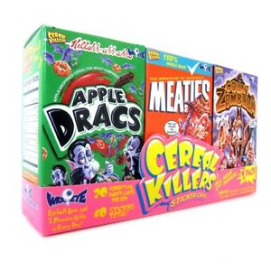 Cereal Killers S2 Cards - 3-Pack Mini-Cereal Box S2 Joe Simko Wax Eye