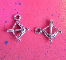 15 Bow and Arrow Charm Pendants For Jewelry Making