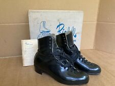 Riedell 220 Roller Skate Boots Mens 11 Red Wing Minn Vintage 80's Artistic Quad
