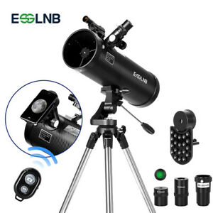 ESSLNB Astronomical Reflector Telescopes with  Phone Adapter 3X Barlow Lens