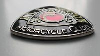 honda suzuki Yamaha kawasaki Japanese Motorcycle grill badge -  Race badge